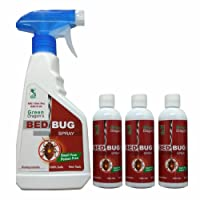 Green Dragon's Biodegradable Bed Bug Spray | Make Ready to Use 1420ml