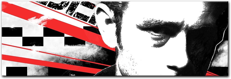 Bilderdepot24 Cuadros en Lienzo Panorama James Dean 180x60 cm 3 Piezas - Enmarcado Listo Bastidor Imagen. Directamente Desde el Fabricante: Amazon.es: Hogar
