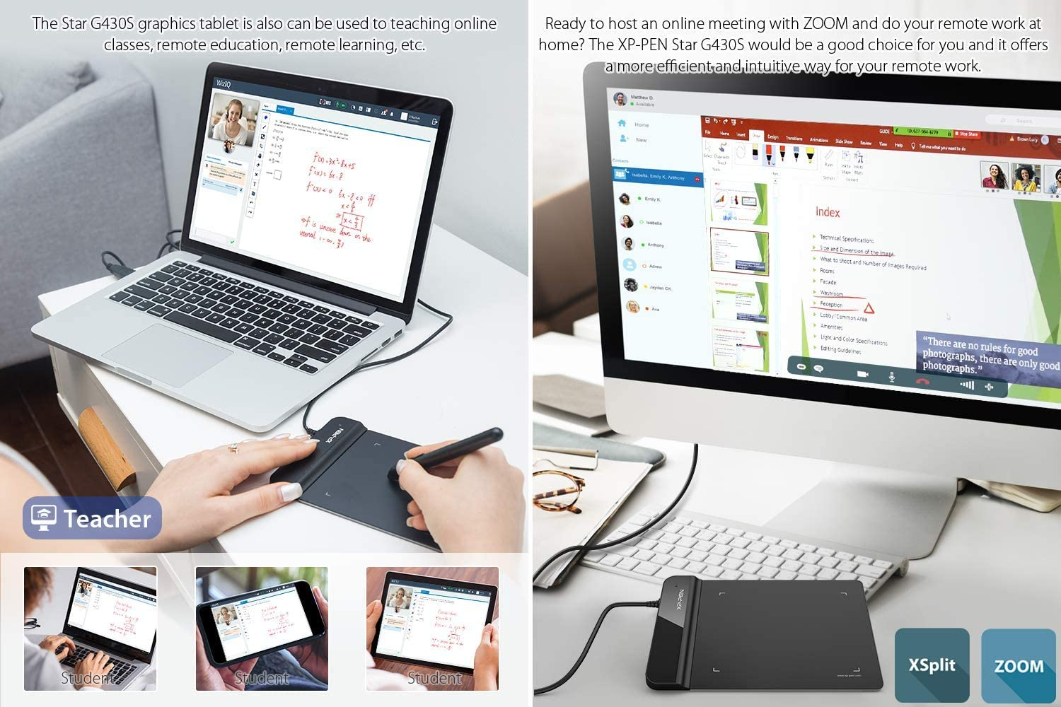 XP-Pen G430S OSU Tablet Ultrathin Graphic Tablet 4 x 3 inch Digital Tablet Drawing Pen Tablet for OSU! (8192 Levels Pressure): Computers & Accessories
