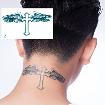 Amazon.com: Yeeech Temporary Tattoos for Men Waterproof Long Lasting ...