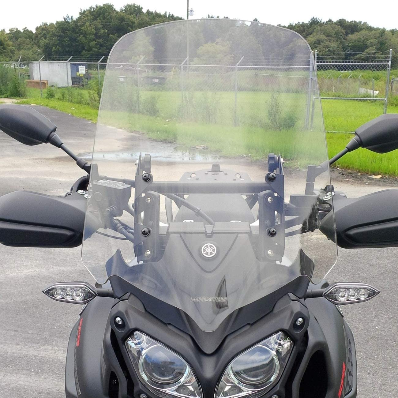Yamaha Super Tenere XT1200Z Compatible 18, Clear 2014 - Up Adjustable Motorcycle Windshield System by Madstad Engineering