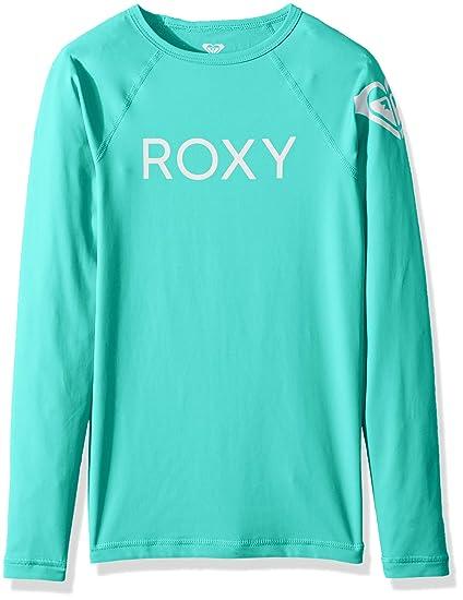 Roxy Big Girls Waves Fashion Long Sleeve Rashguard