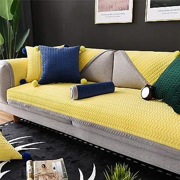 Fabulous Sandm Espesar Felpa Corta Sofa Acolchado Antideslizante Download Free Architecture Designs Intelgarnamadebymaigaardcom
