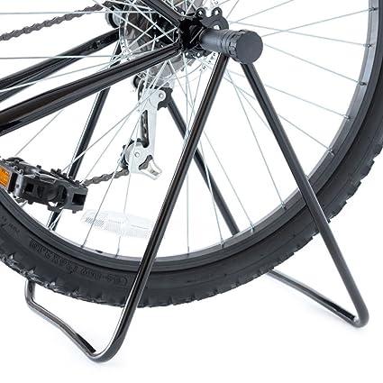 Starnearby - Soporte plegable para bicicleta, soporte de reparación de suelo, estante de almacenamiento