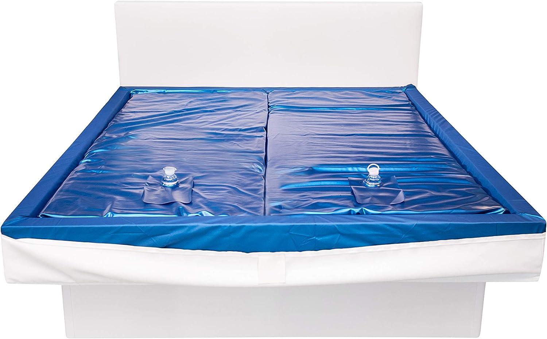 Platz 2 – Aqua Sense 2x Wasserkern für Wasserbett 180x200