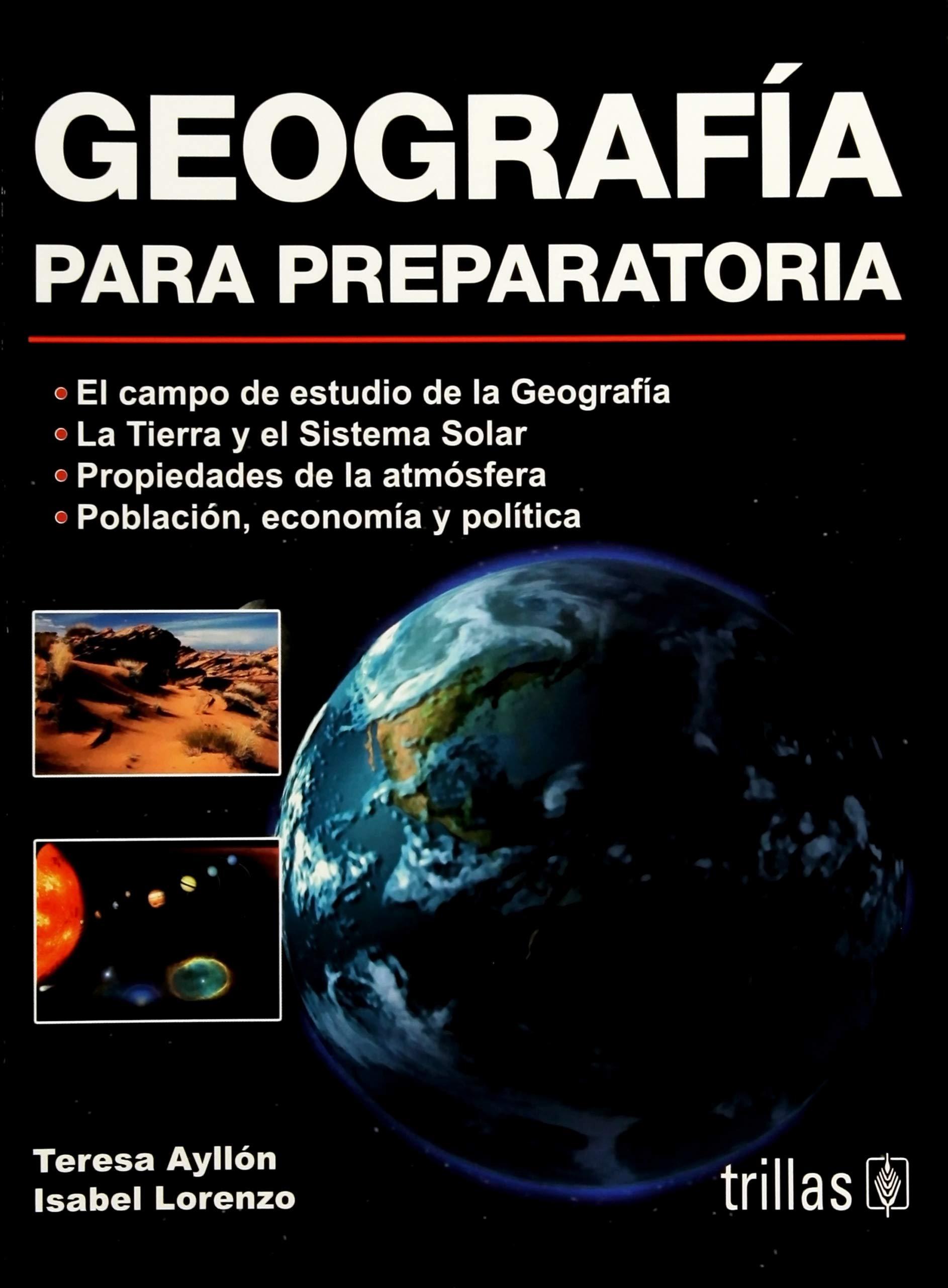 Geografia Para Preparatoria (Spanish Edition) ebook