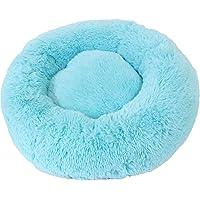 Petstyle Cama para Perro o Gato, Donna, Suave y Cómoda para un Descanso Ideal para tu Mascota, Azul