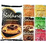 Solano Caramelos Sin Azúcar Pack PERSONALIZABLE (Toffee Tradicional Crema, Fresas con Nata, Café…