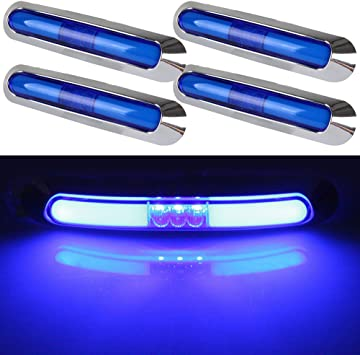 Replacement Blue Lens for Bullet Rear Taillight Marker Light