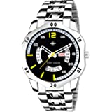 Eddy Hager Black Day and Date Men's Watch EH-230-BK
