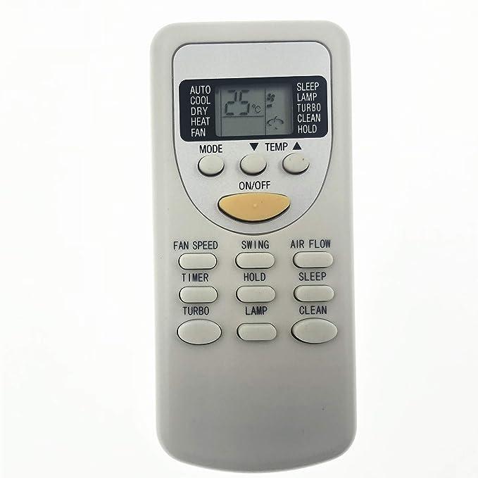 Marca nueva AC Control Remoto ZH/JT-01 ZH JT01 Fit para Vaillant/fujiaire/Chigo Aire Acondicionado reemplazar ZH/jt-03: Amazon.es: Hogar