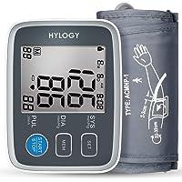 Blutdruckmessgerät, HYLOGY LCD-Großbild-Display Digital Vollautomatisch Medizinischer Oberarm Blutdruckmessgerät zum Pulsmessung und Arrhythmie-Erkennung [22cm - 32cm Standard-Manschette] Mehrweg