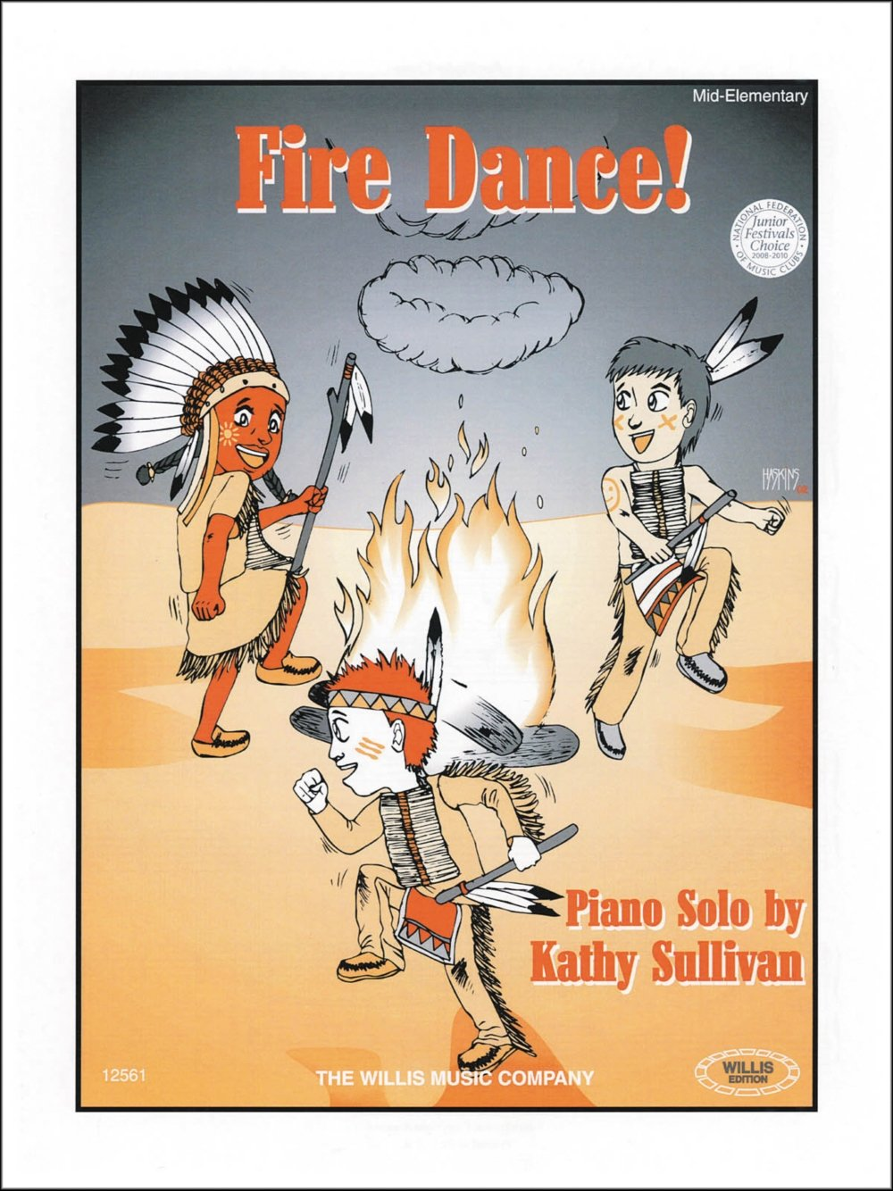 Download Willis Music Fire Dance Mid-Elementary Piano by Kathy Sullivan pdf