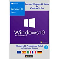 Windows 10 Home upgrade Windows 10 Pro Version complète francais Clé de licence originale par email + Instructions de iTeczon®