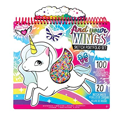 Unicorn Fantasy Shaker Portfolio (Artwork May Vary): Toys & Games