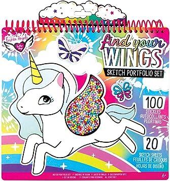 Fashion Angels Fantasia Unicornio Juego DE Dibujo: Amazon.es: Juguetes y juegos