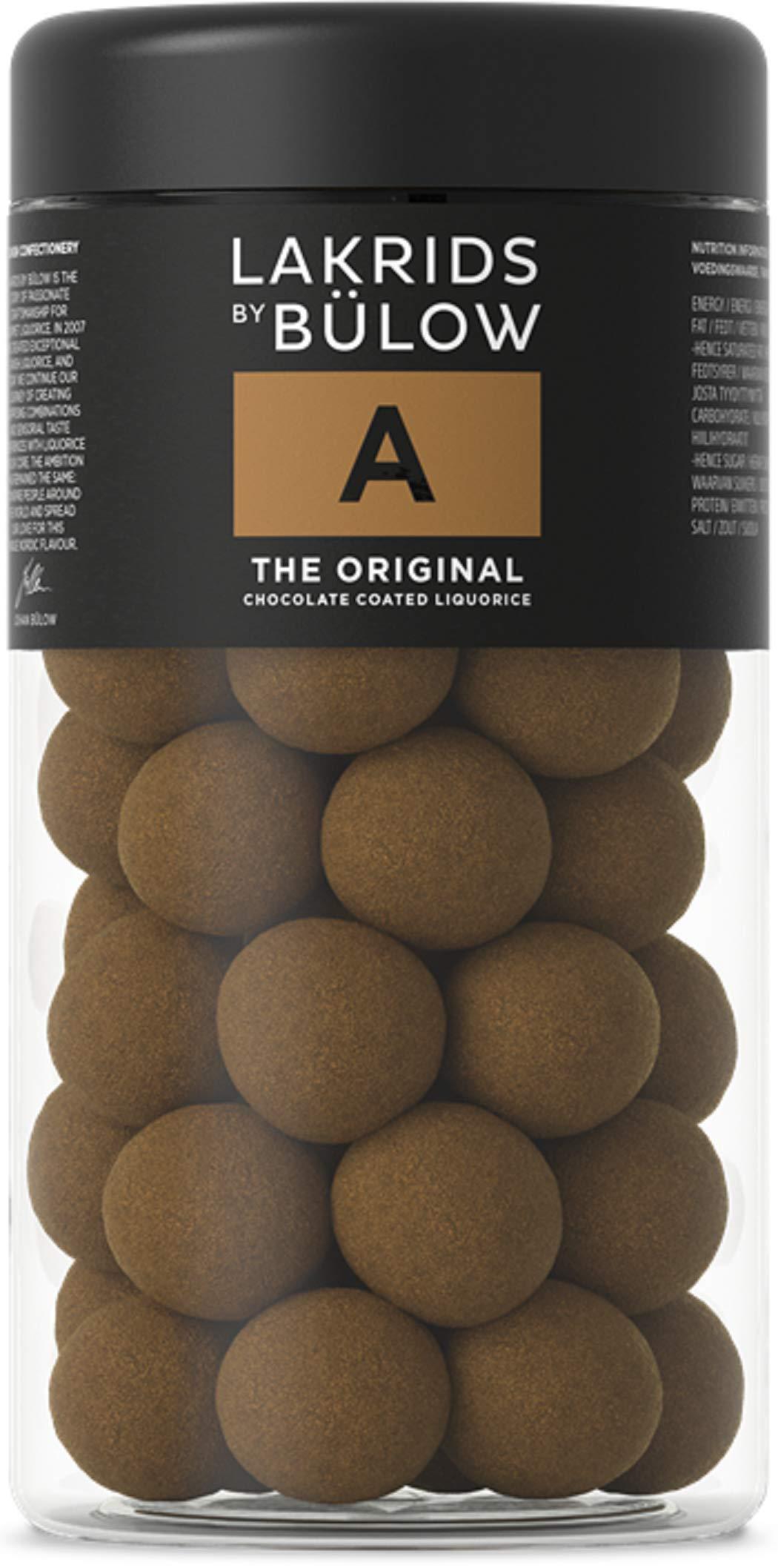 Lakrids by Johan Bülow A - The Original Chocolate Coated Liquorice (265g) by Lakrids