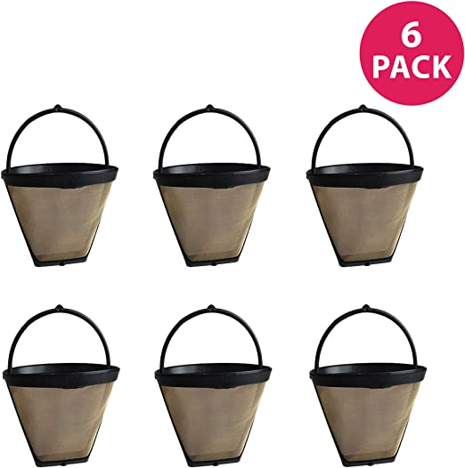 Replacement Filter Replacement Coffee Filter for Cuisinart GTF-1 3-Pack