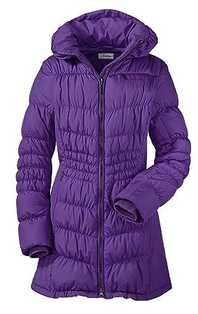 Schöffel abrigo de plumas para mujer Ally, otoño/invierno, mujer, color morado