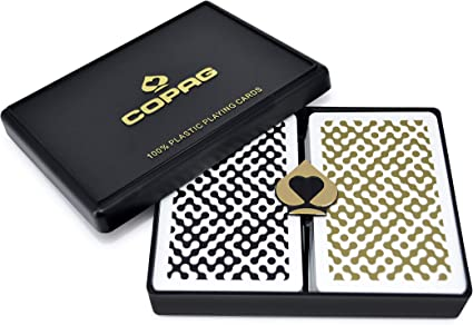 COPAG Plastic Playing Cards Bridge Size Jumbo Index Class Modern Free Gift