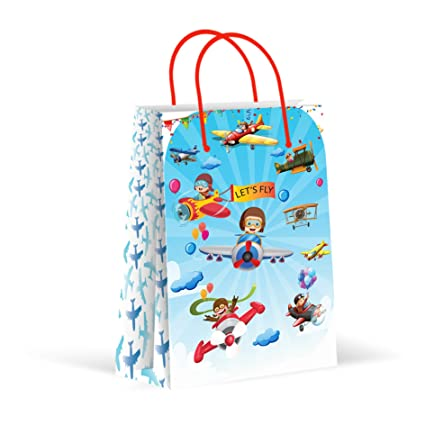 Amazon.com: Bolsas de fiesta de avión, bolsas de regalo para ...
