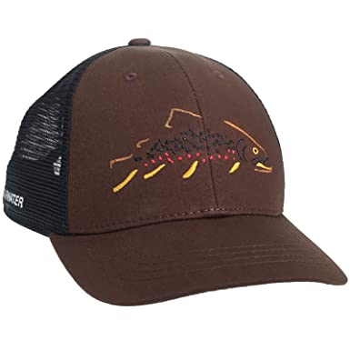 10f2a59ef5 Rep Your Water Minimalist Brown Trout Hat at Amazon Men s Clothing ...
