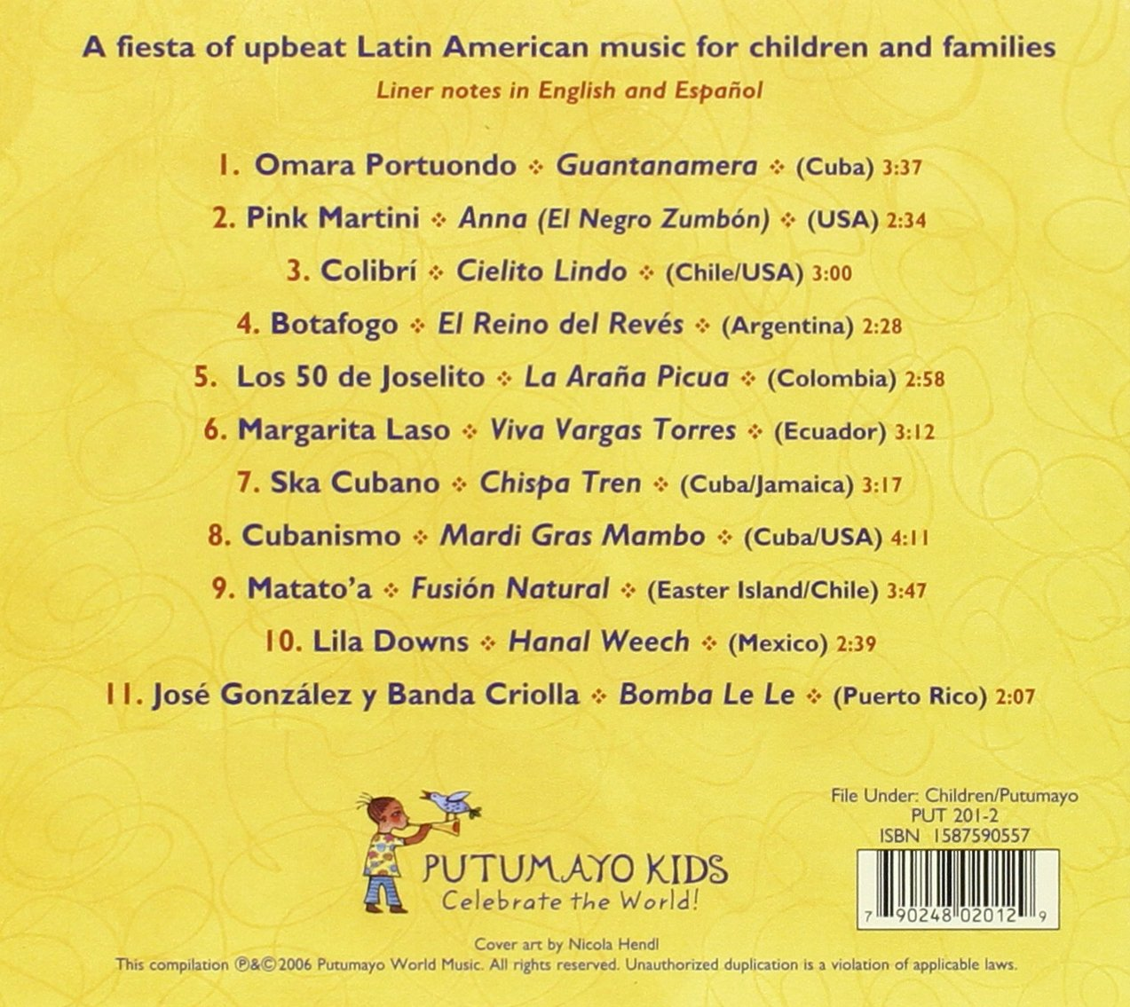 Putumayo Kids Latin Playground CD by Putumayo Kids