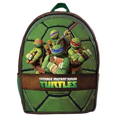 Ninja Turtles Mochila Infantil, Verde (Verde) - 42512: Equipaje