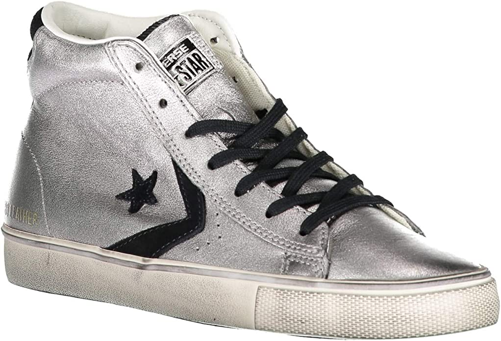 converse donna in pelle
