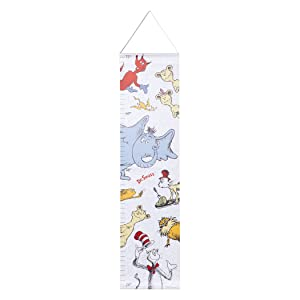 Dr. Seuss Friends Canvas Growth Chart