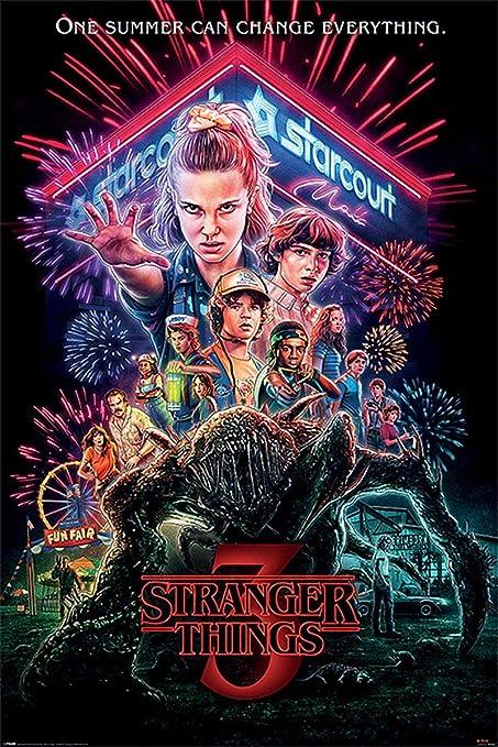 """Résultat de recherche d'images pour """"Stranger Things (saison 3) affiche"""""""