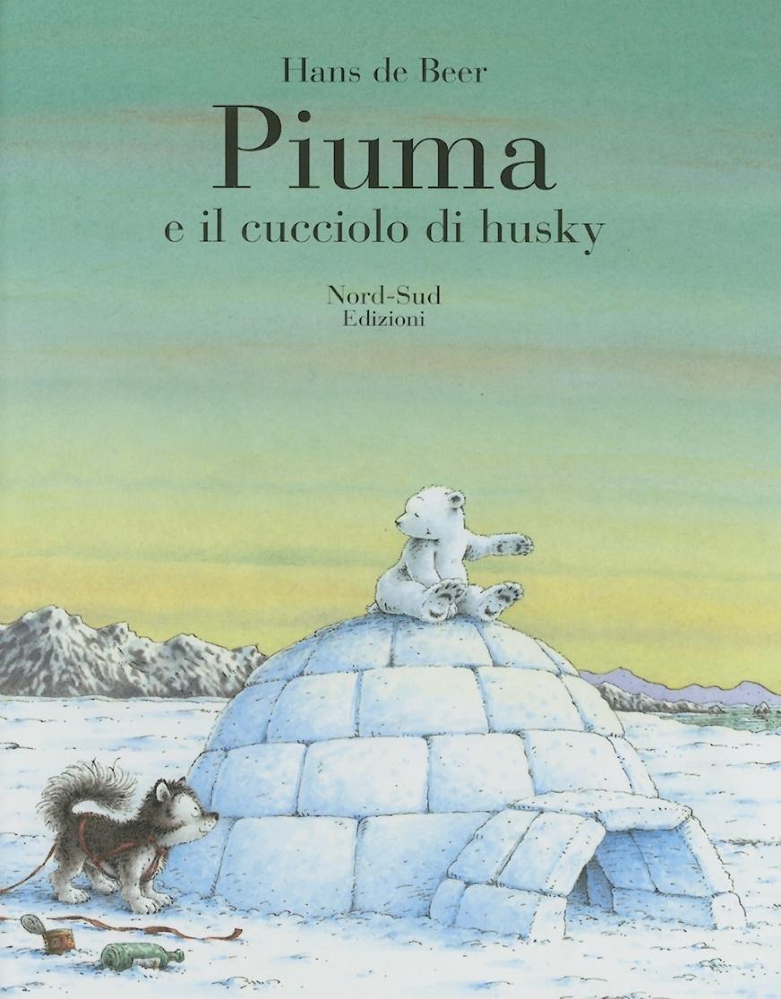 Piuma E Il Cucciolo Di Husky