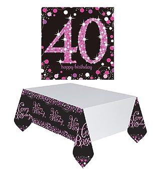 Feste Feiern Geburtstagsdeko Zum 40 Geburtstag I 17 Teile All In One