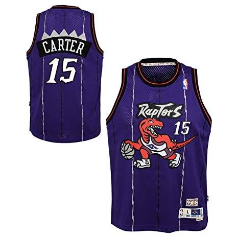 info for d191f 9ed69 Outerstuff Vince Carter Toronto Raptors NBA Youth Throwback 1998-99  Swingman Jersey