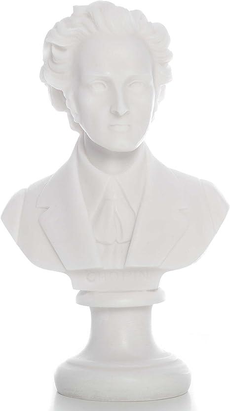 Grandes compositores: Pecho con de la Estatua de la Chopin ...