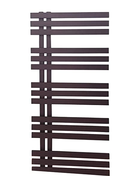 Diseño baño Radiador VERONA Negro Antracita 1400 x 500 mm.calentador toallas