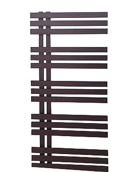 Diseño baño Radiador VERONA Negro Antracita 1000 x 500 mm. calentador toallas: Amazon.es: Bricolaje y herramientas