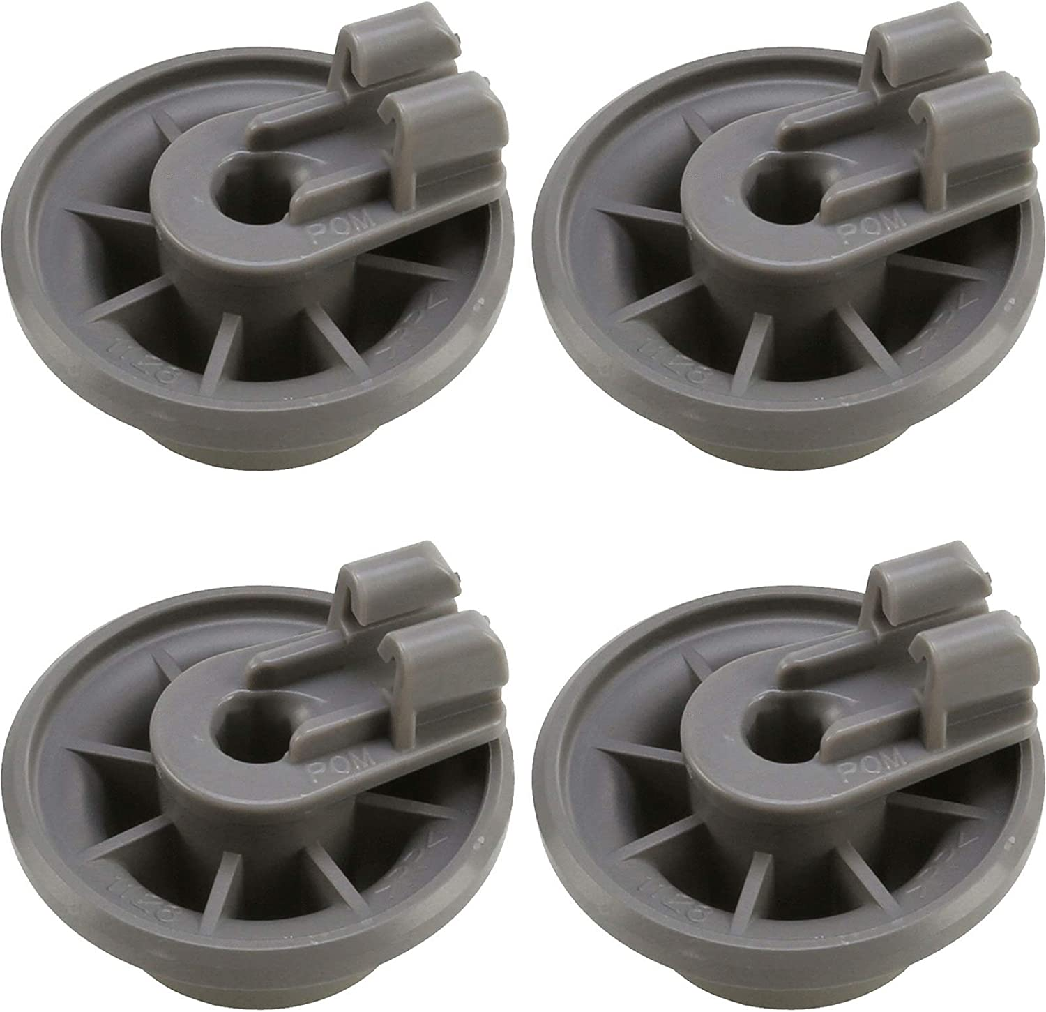 00611475 Dishwasher Lower Dishrack Wheel Assembly For Bosch Dishwasher-(4 Pack)