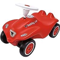 Big - 800056200 - Porteur Enfant - Vehicule Enfant avec Roues Silencieuses - Big New Bobby Car - Rouge
