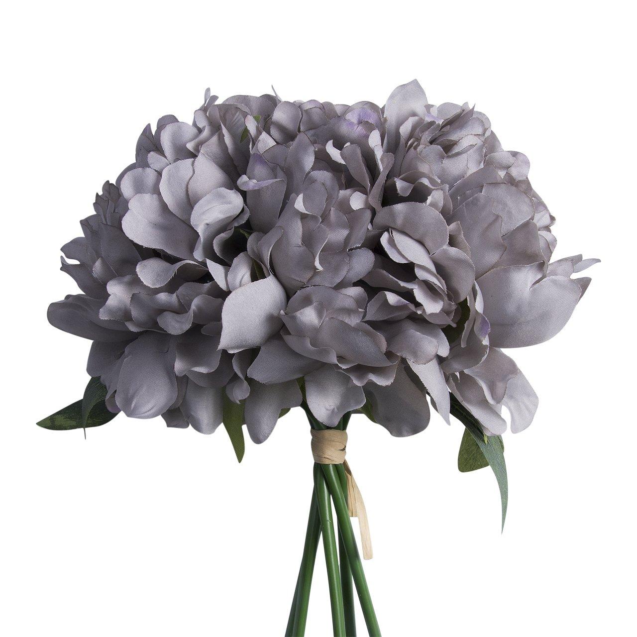 Amazon Artificial Fake Peony Silk Flower Bridal Hydrangea Home