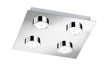 plafonnier led 4 lampes