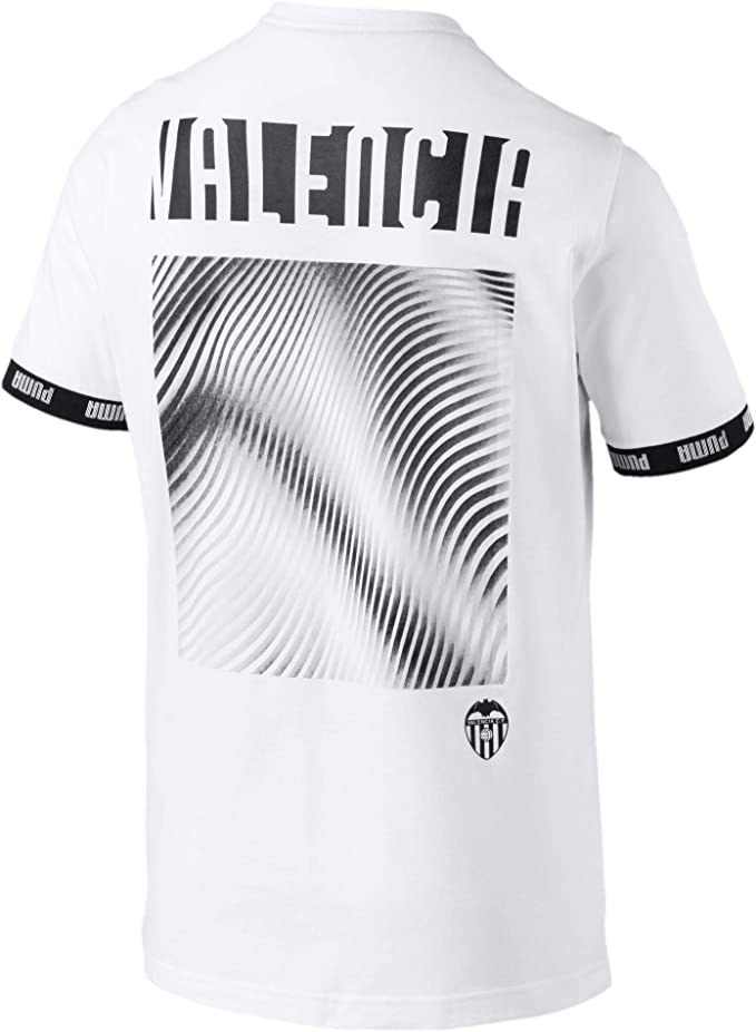 Puma Valencia CF Urban Culture 2019-2020, Camiseta, White: Amazon ...