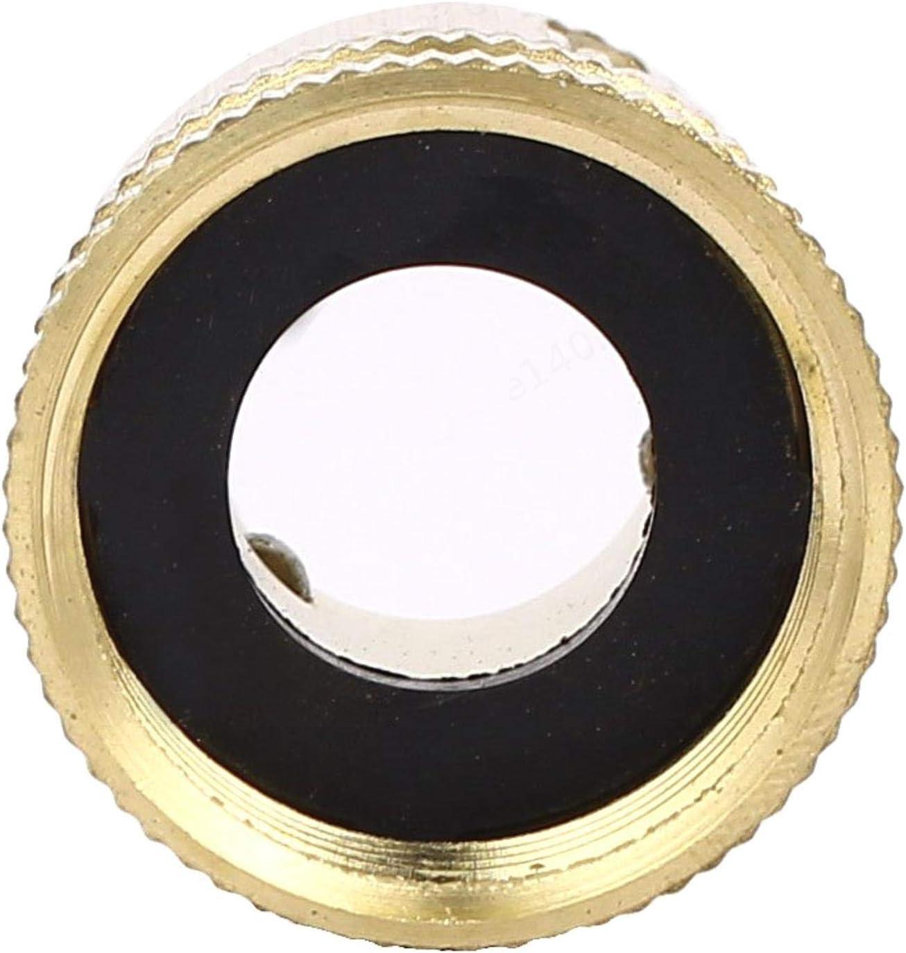 4BSP Laiton Filetage Femelle Tuyau deau Attache Rapide Connecteur pour Tuyau de Lavage de Voiture 17mm int/érieur Dia XILOSIN 3