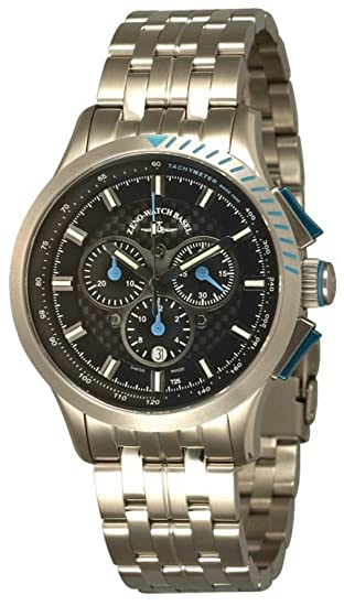 Zeno-Watch Reloj Mujer - Sport H3 Fashion Cronógrafo - 6702-5030Q-s1