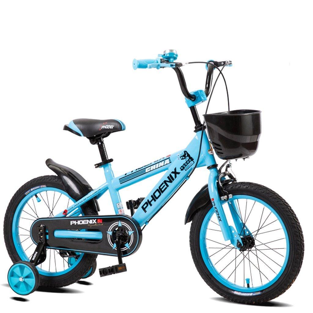 DGF 子供の自転車キッズペダル自転車の少年少女の赤ちゃん2-10屋外バギー (色 : 青, サイズ さいず : 12インチ) B07F12WVQV 12インチ 青 青 12インチ