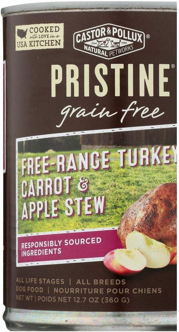 CASTOR & POLLUX Stew Organix Turkey Carrot & Apple, 360 GR