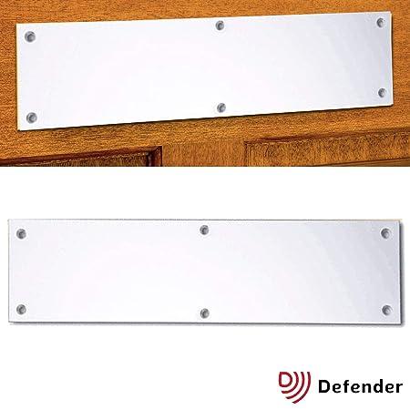 chrome blanking plate letterbox chrome satin silver letter box