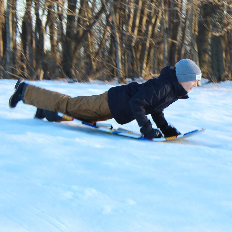 Flexible Flyer Snow Screamer 2-Person Snow Sled. Foam Plastic Double Sno Slider by Flexible Flyer (Image #5)