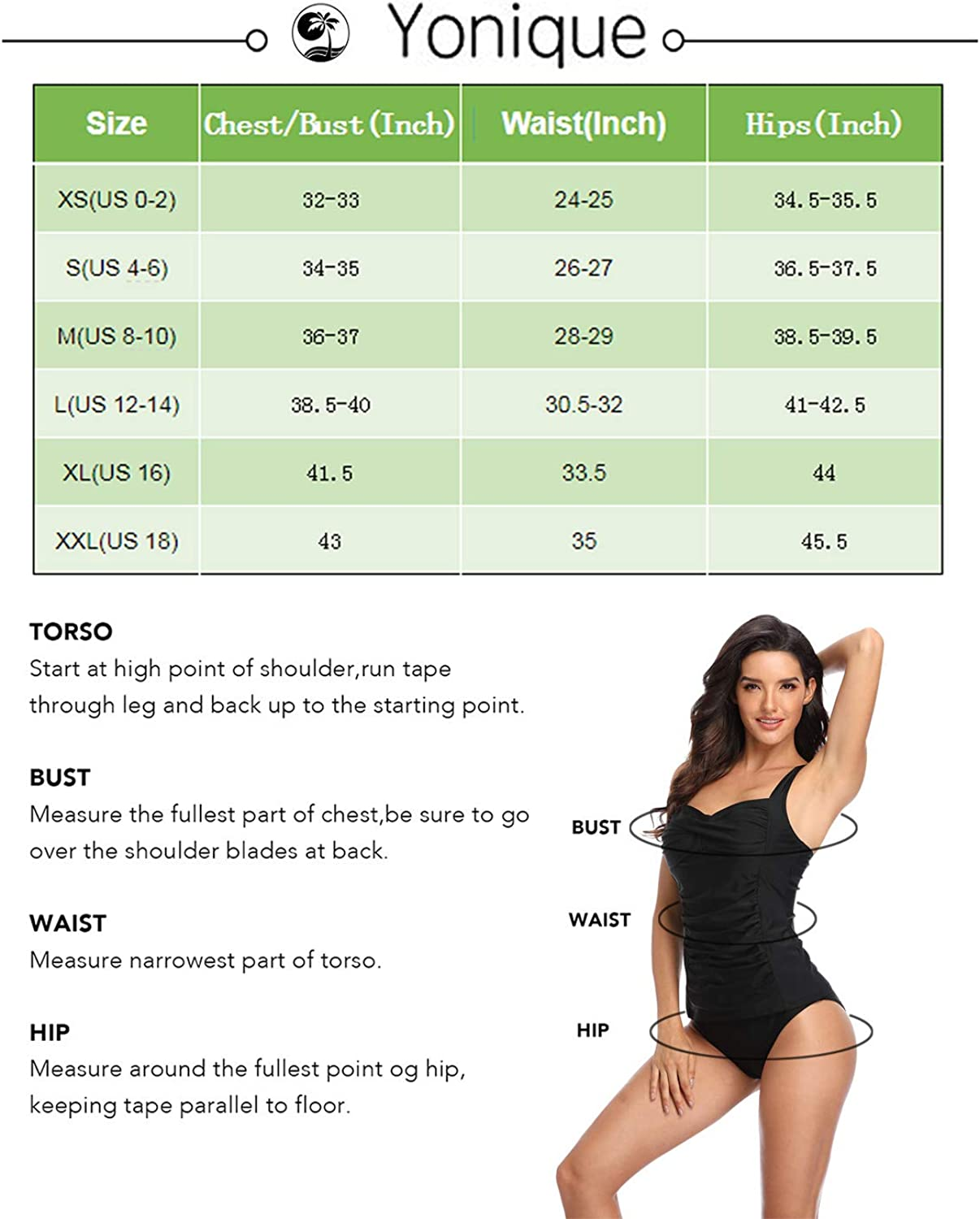Yonique Womens One Shoulder Tankini Swimsuit Top Asymmetric Ruffle Tank Top Ruched Tummy Control Swim Tops No Bottoms