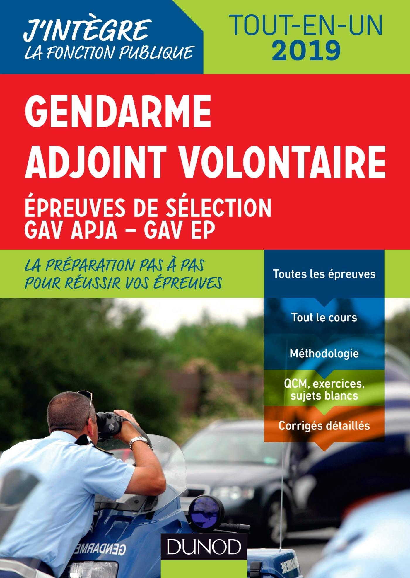 Gendarme Adjoint Volontaire Epreuves De Sélection Gav Apja
